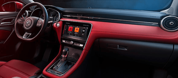 New MG 6 Debuts in China - Interior