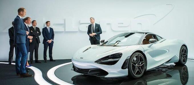 Prince William, HRH The Duke of Cambridge, Visits McLaren 2