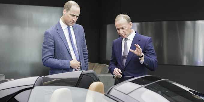 Prince William, HRH The Duke of Cambridge, Visits McLaren 3
