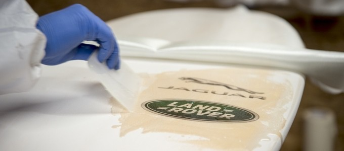 Recycled Plastic Surfboard Launched by Land Rover 1