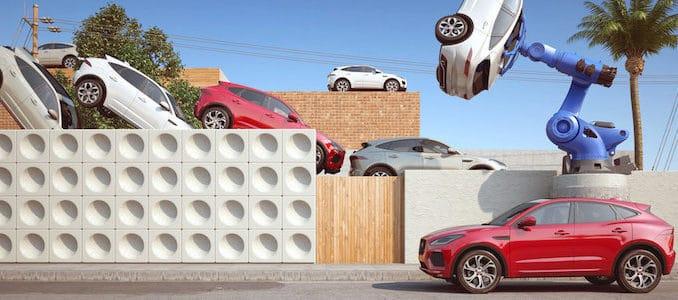 Surreal Twist on Jaguar F-PACE SUV