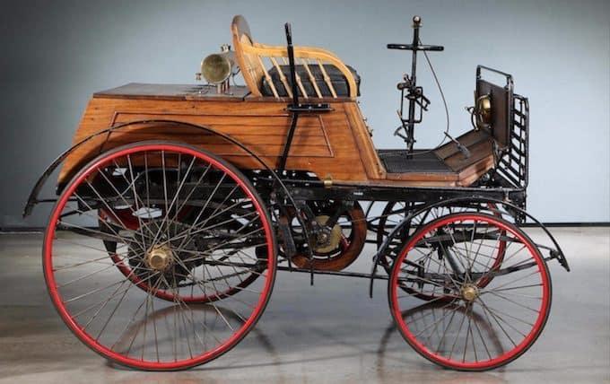 1894 Santler 3½hp Dogcart 3