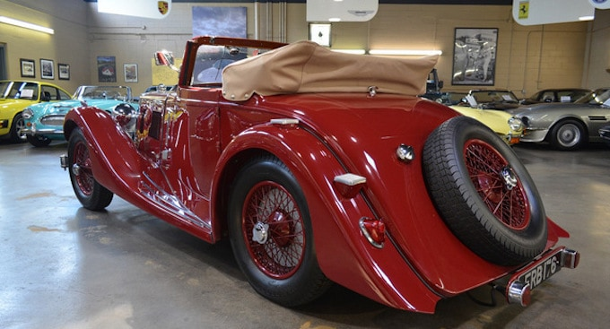 1937 ASTON MARTIN 15:98 SHORT-CHASSIS DROPHEAD COUPE 3