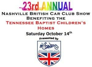23rd Annual Nashville British Car Club Show