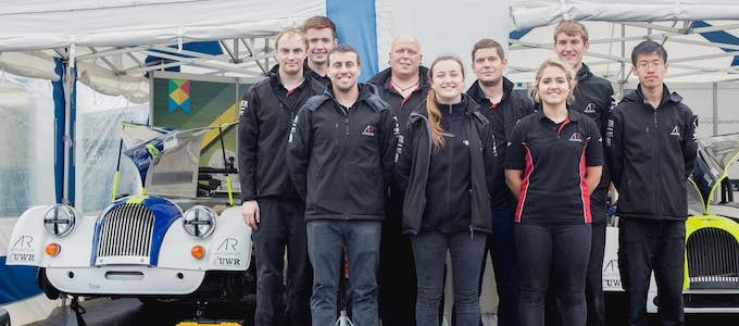 A SECOND YEAR OF MOTORSPORT SUCCESS FOR MORGAN AND WOLVERHAMPTON UNIVERSITY 1
