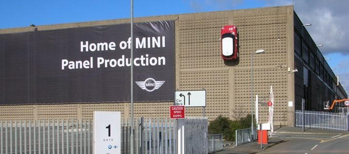 BMW MINI British pressings plant Swindon