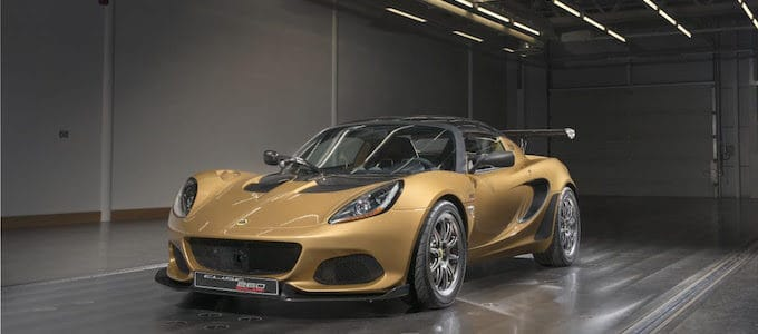 Lotus Elise Cup 260 - Sports Car Alchemy