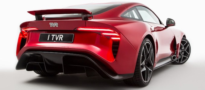 New TVR Griffith to be displayed at the NEC Classic Motor Show 2