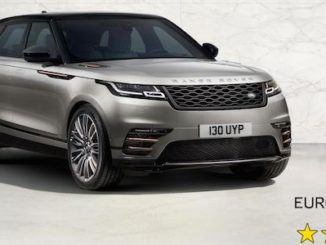 Range Rover Velar achieves a five-star Euro NCAP safety rating
