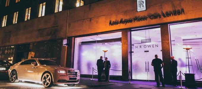 Rolls Royce Phantom Launch Finals 19th October-6