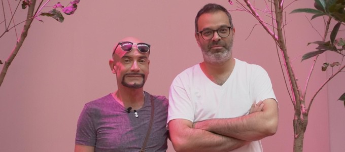 Rolls-Royce announces partnership with Rockbund Art Museum to support installation by American Artist Asad Raza (on right)