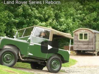 Series I Land Rover Reborn at Eastnor