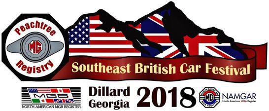 Southeastern British Car Festival 2018, Dillard, GA
