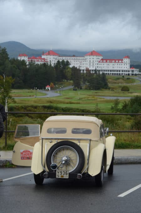 sed in a rest area overlooking yet another landmark, the Mount Washington Hotel