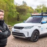 The Water Diaries Expedition Leader Fearghal ONuillan with Special Vehicle Operations prepared Discovery