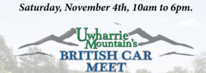 Uwharrie Mountains British Car Meet