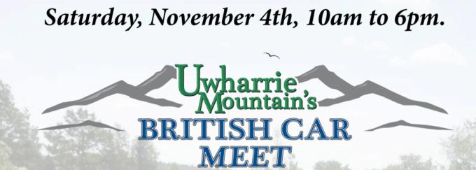 Uwharrie Mountains British Car Meet