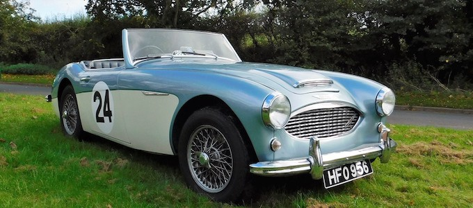 Classic car auction for 1959 Austin Healey 3000 MK1 BT7 2+2