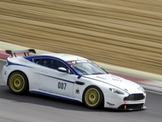 Andy Palmer has raced with the Aston Martin Owners Club this year in preparation in a standard Vantage GT4 (2)