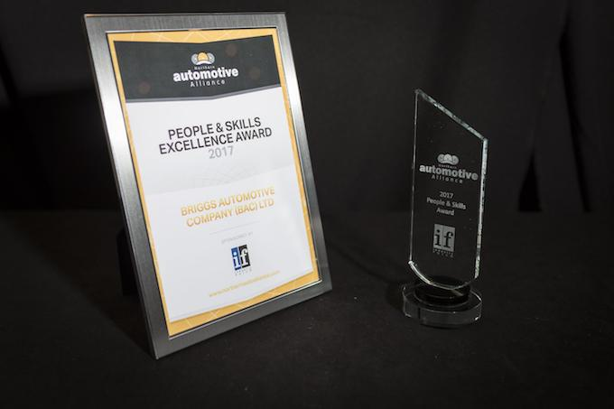 BAC WINS PRESTIGIOUS PEOPLE AND SKILLS EXCELLENCE AWARD AT 2017 NORTHERN AUTOMOTIVE ALLIANCE (NAA) AWARDS 4