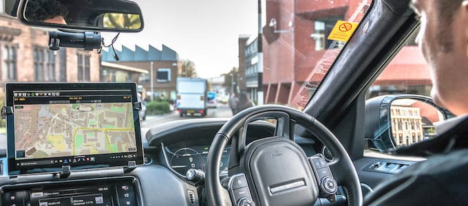 First On-Road Tests For Autonomous Jaguar Land Rovers