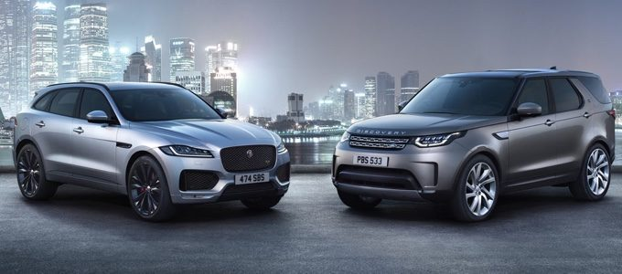 JLR - JAGUAR LAND ROVER REPORTS SALES RESULTS