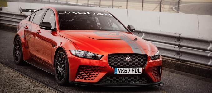 Jaguar SVO XE SV Project 8 19MY Nurburgring record lap 2
