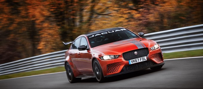 Jaguar SVO XE SV Project 8 19MY Nurburgring record lap