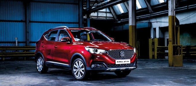 MG ZS - UK Launch - Oct 2017 - small
