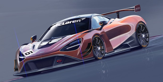 McLaren 720S GT3 race concept sketch front final for release