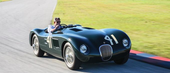 Phil Hill's Jaguar C-Type up for Auction 1