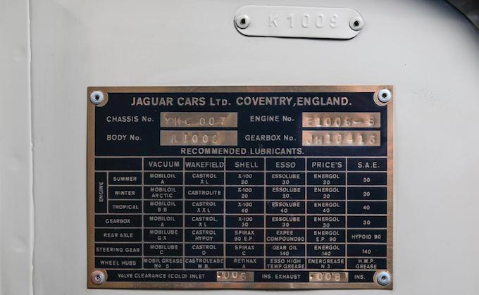 Phil Hill's Jaguar C-Type up for Auction 2