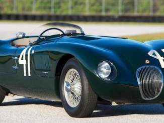 Phil Hill's Jaguar C-Type up for Auction