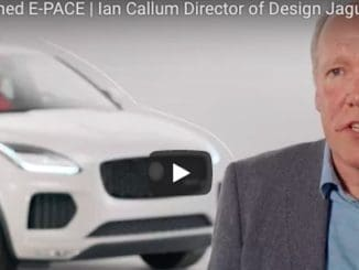 Video - Ian Callum Discusses Designing the Jaguar E-PACE