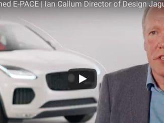 Video - Ian Callum Discusses Designing the Jaguar E-PACE