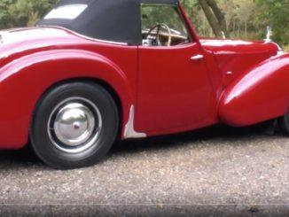 VotW - 1948 Triumph Roadster