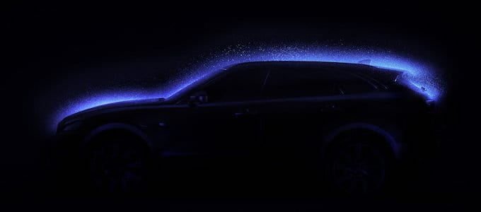 Blacklight - Jaguar F-PACE Painted in a New Light