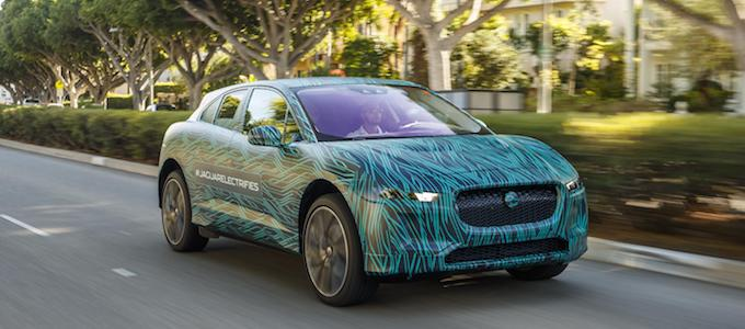 Jaguar I-PACE tested in Los Angeles