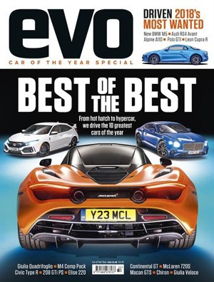 McLaren 720S Named EVO Car of the Year