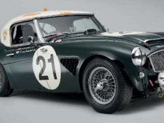 Porter Profiles - Austin-Healey 3000 The story of DD 300 - HERO