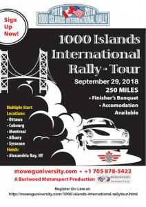 1000 Islands International Rally