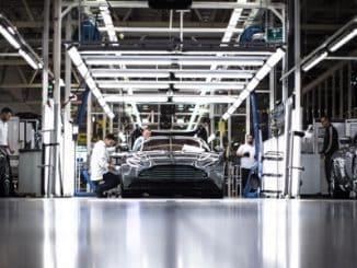 Aston Martin Gaydon manufacturing 2
