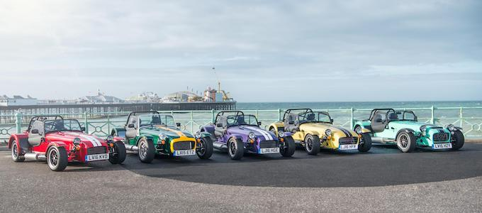Bucking the Trend: Caterham Boasts 8% Increase in 2017 Sales