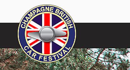 Champagne British Car Festival