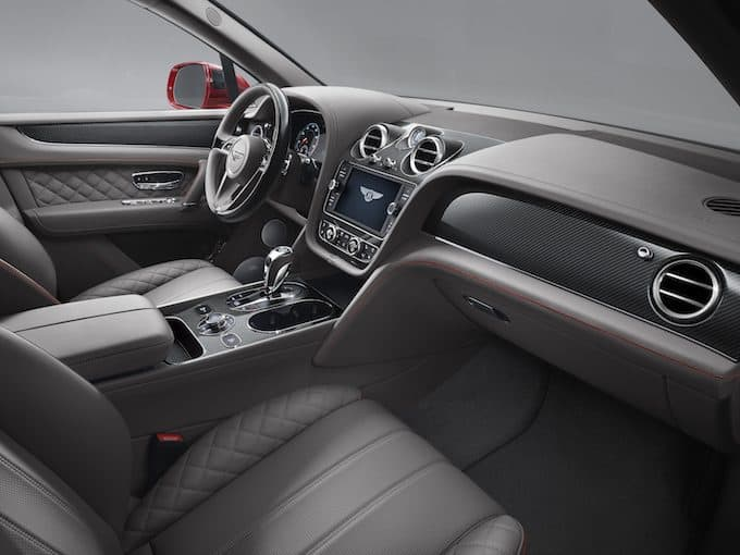 Bentley Bentayga Front Interior