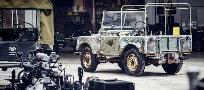 Land Rover's 70th Anniversary Begins with Restoration of 'Missing' Original