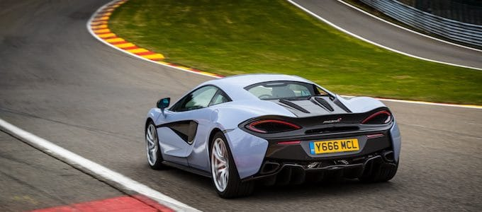 McLaren Sports Series 570S Track Pack