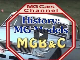 New Video - History of the MGB & C by the MG Channel