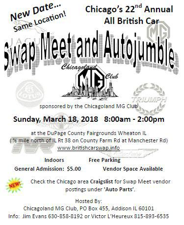 Twenty Second Annual All British Swap Meet and Autojumble