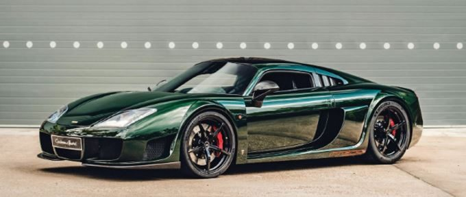 2018 British Racing Green Noble M600 CarbonSport